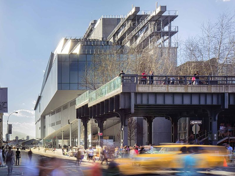 Piano's Whitney Museum of American Art is a new architectural icon