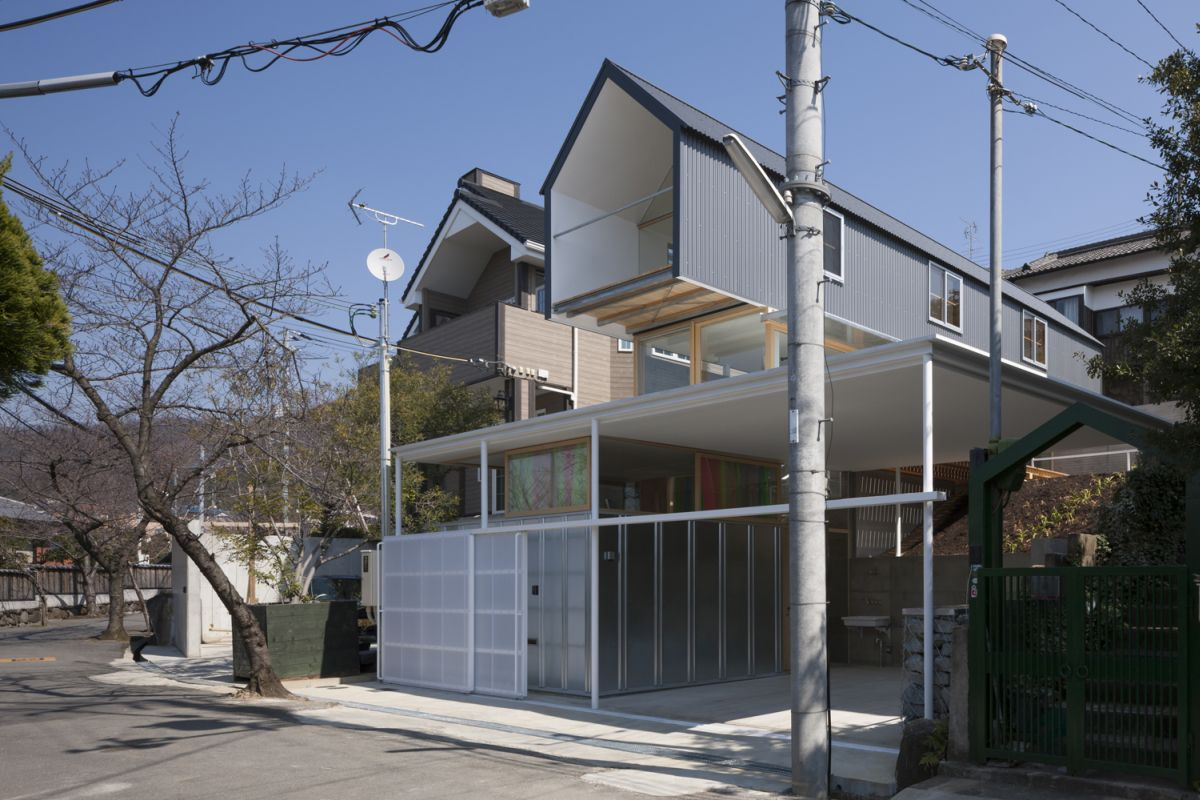 House In Ishikiri Tato Architects Architecture Lab