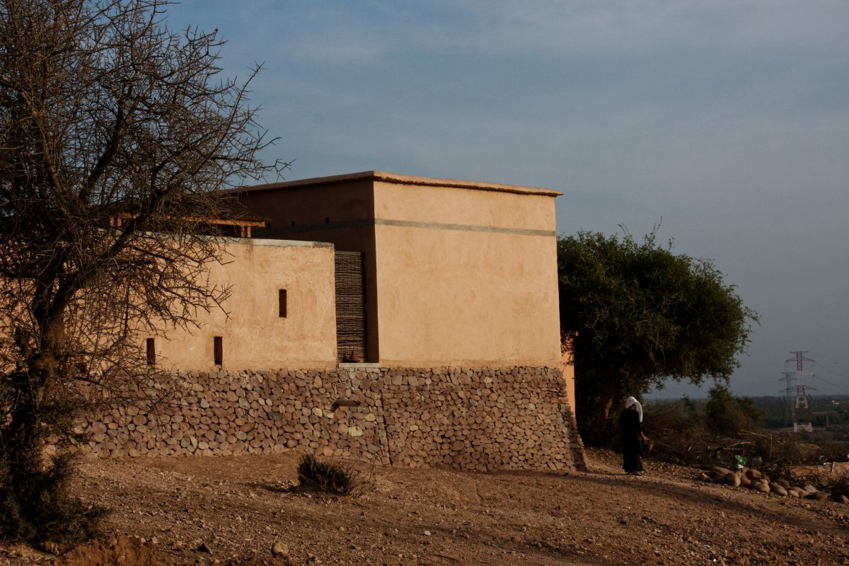 Preschool of Aknaibich, Morocco / BC architects + MAMOTH