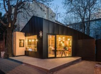 Juice bar cabin, Romania / Not a Number Architects
