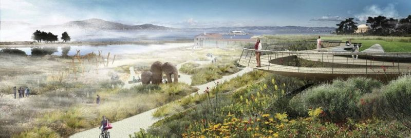 Vision for San Francisco's Crissy Field balances subtlety, spectacle