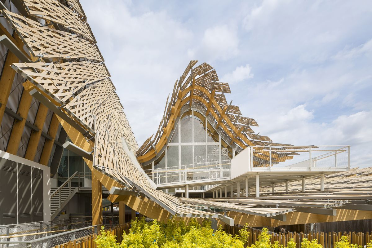China Pavilion for Expo Milano 2015 / Tsinghua University + Studio Link-Arc