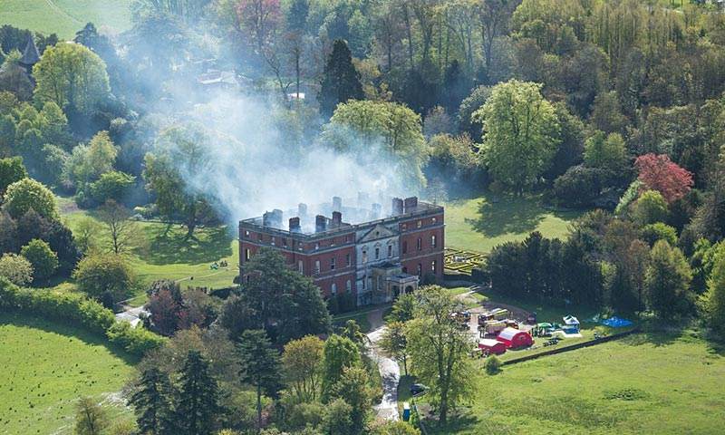Clandon Park fire: is a marble marvel lost forever?