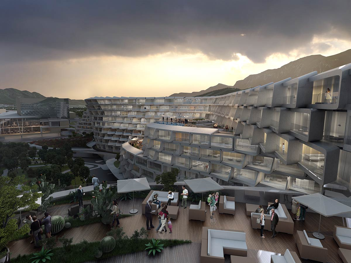 Esfera City Center, Mexico / Zaha Hadid Architects