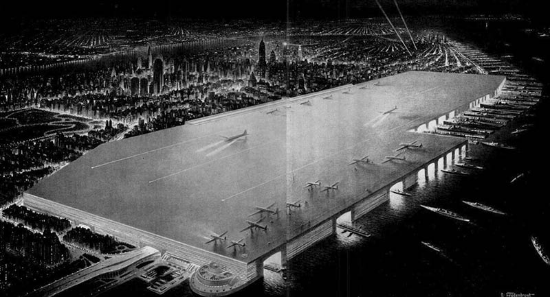 NYC's 1940s 'Dream Airport' Would Have Been on a Giant Midtown Rooftop
