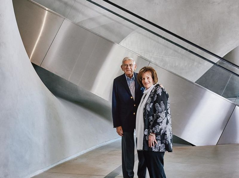 Eli and Edythe Broad Build a Museum for Their Art Collection