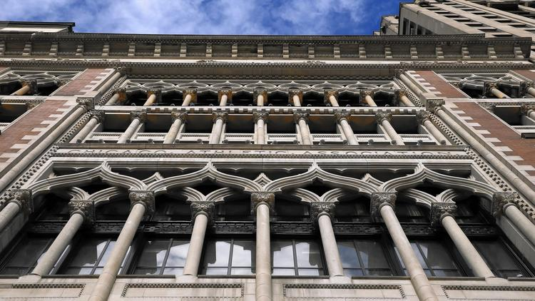 Chicago Athletic Association now a hotel with ceilings like an ice cave
