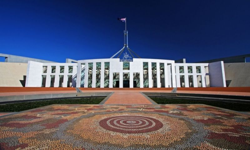 Canberra's Parliament House: a 'symbol of national identity'