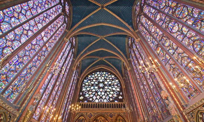Laser surgery restores Sainte-Chapelle stained glass window to Gothic glory