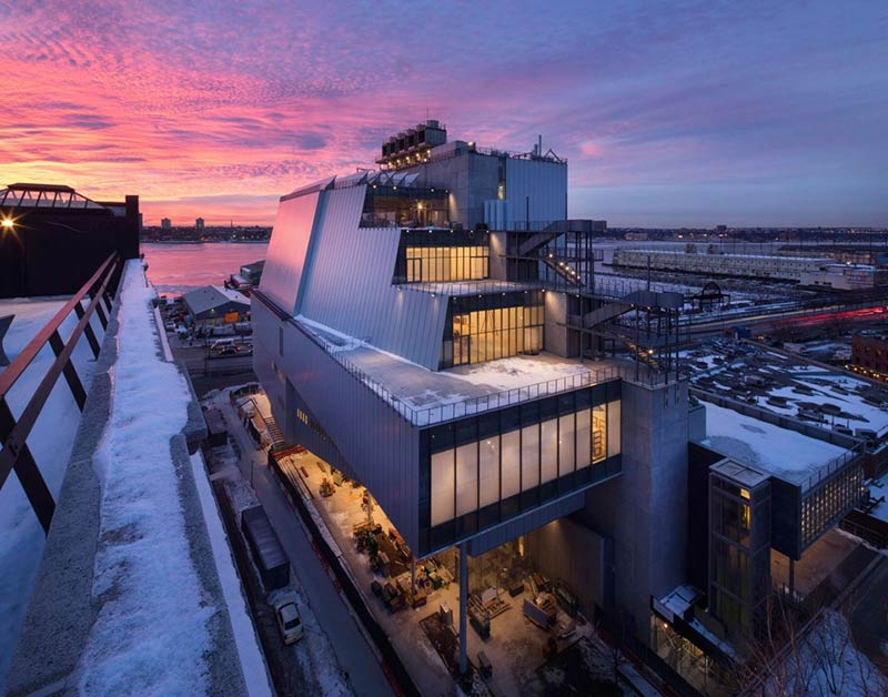 How Renzo Piano's New Whitney Museum Protects Its Art From Climate Change