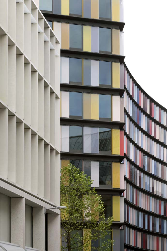 New Ludgate, a new development in London,  has just been completed