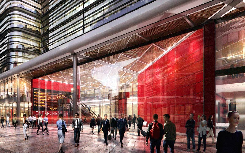 Foster + Partners wins Cardiff Interchange Design Competition