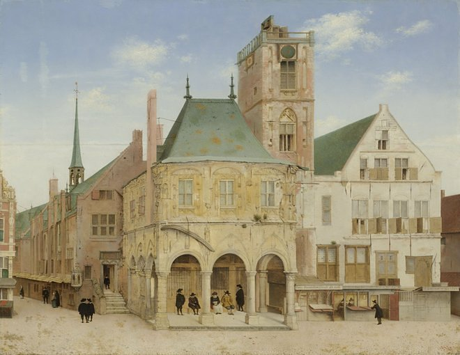 Pieter Jansz Saenredam - The First Architecture Instagrammer