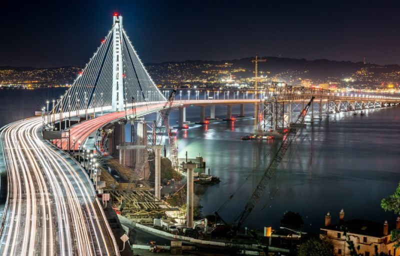 Why California's new Bay Bridge got corroded?
