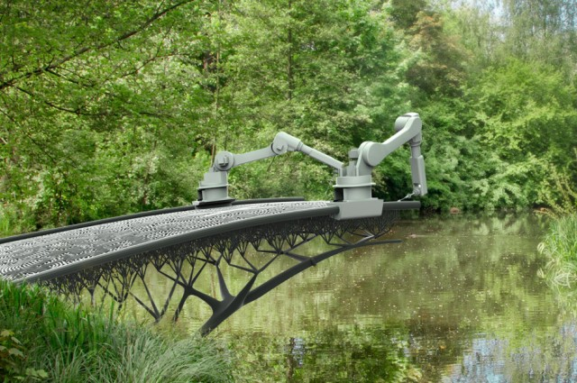 Amsterdam Company going to 3D-Print a Steel Bridge