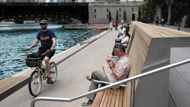 Chicago's downtown Riverwalk keeps getting better