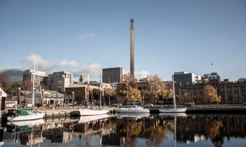 Hobart's proposed 117m Art Tower could become Tasmania's tallest building