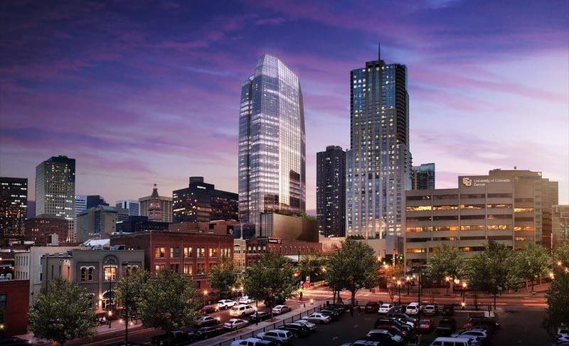 Construction begins on new Denver skyscraper