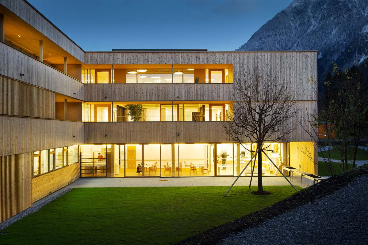 Nenzing nursing home dietger wissounig architects for Home building architecture
