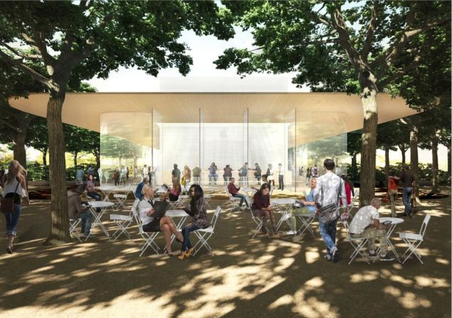 "Apple's Cupertino Campus Will Have an ""Observation Deck"" For Fans"
