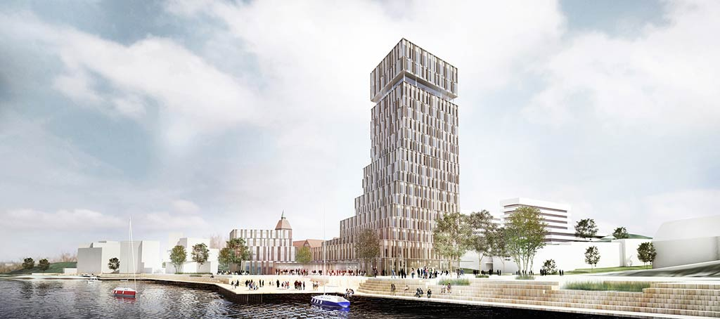 Henning Larsen Architects reveals a new landmark in Sønderborg