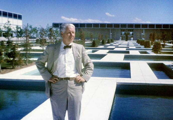 Dallas Center for Architecture has mounted an introduction to Landscape great Dan Kiley