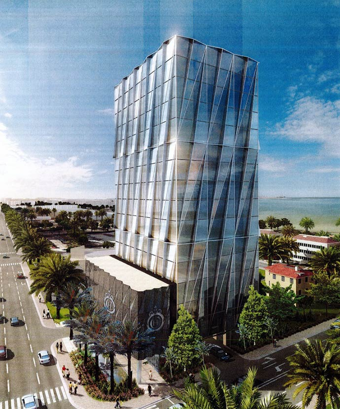 Grosskopf Plans 17-Story Arquitectonica Office Building in Miami's Sunny Isles
