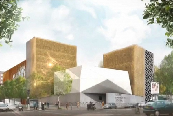 Paris Jewish centre to open in 2017 as a 'symbol of hope'