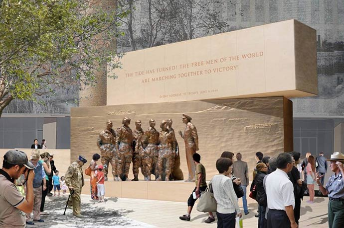 Gehry's Eisenhower Memorial design clears final federal hurdle