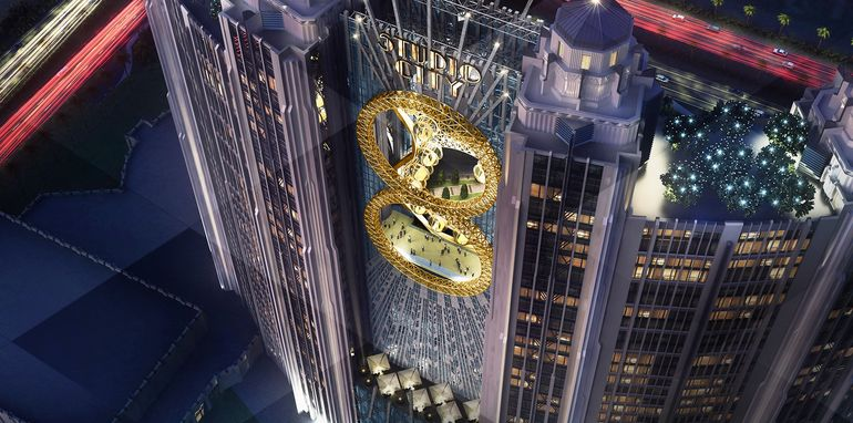 Macau's Golden Reel will be the world's first figure-eight Ferris wheel