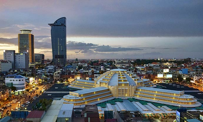 Inside Phnom Penh's empty new skyscraper: 'This is only for excellencies'