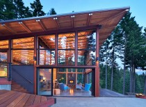 Basecamp johnston architects architecture lab for Energy efficient cabin
