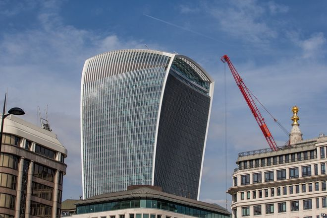 The Walkie Talkie wind effect
