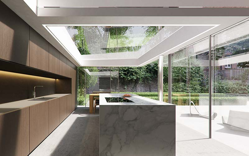 Bringing transparency to a Hampstead Arts & Crafts home