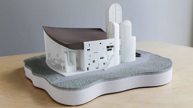 Le Corbusier, Remastered: 3D printing in architecture