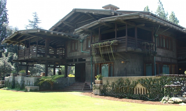 Gamble House: the abode that saw Greene and Greene go Back to the Future