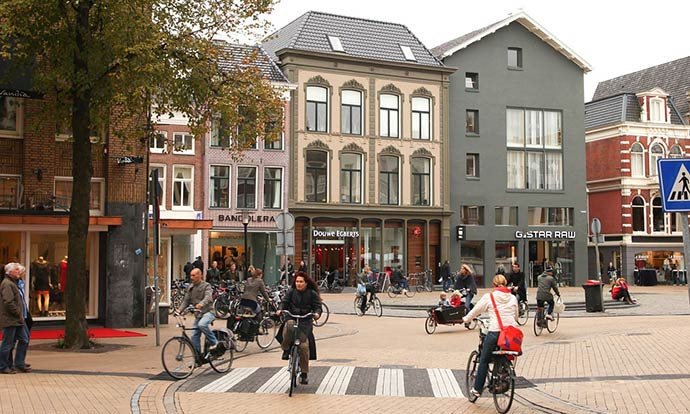 How Groningen invented a cycling template for cities all over the world