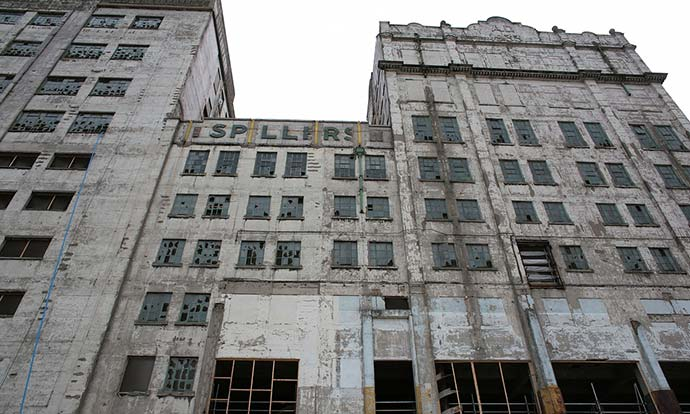 Millennium Mills: developers catch up with Docklands' last relic