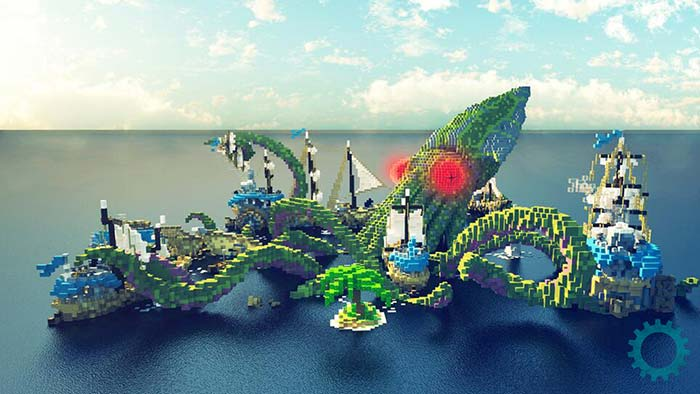 When Minecraft meets architecture, magic happens