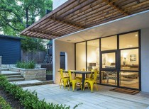 Ranch style home converted into tranquil, bright space / sanders architecture