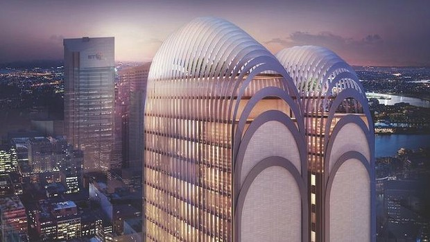 Sydney develops its very own brand of architecture: curvy