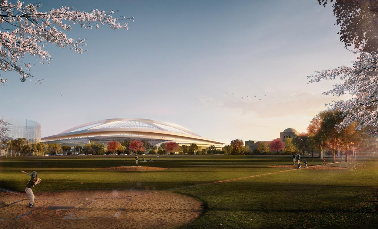 Zaha Hadid's New National Stadium