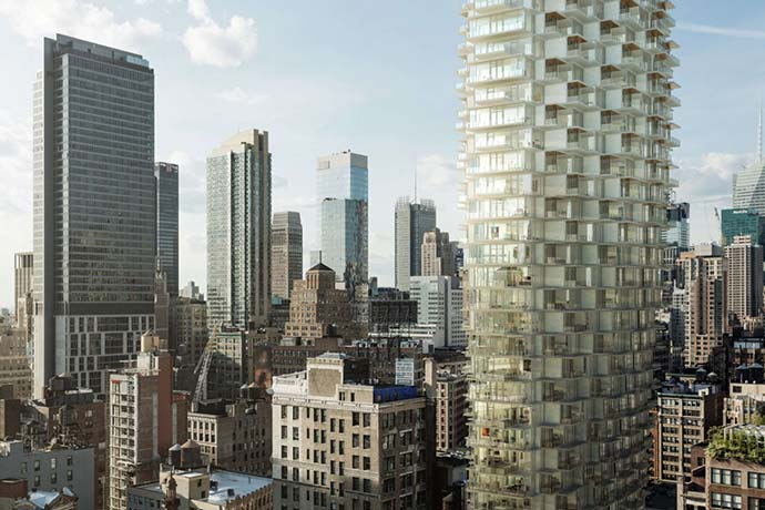 Could This Honeycomb Tower Be Moshe Safdie's Bancroft Building Replacement?