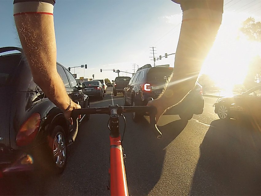 The Ride of Way: A View of Los Angeles from a Bicycle Seat