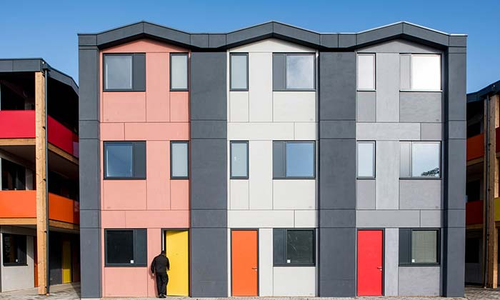 Return of the prefabs: inside Richard Rogers' Y:Cube homes for homeless people