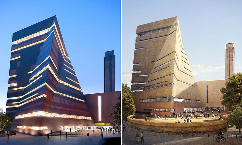 Tate Modern's Olympic-sized expansion to open in June 2016