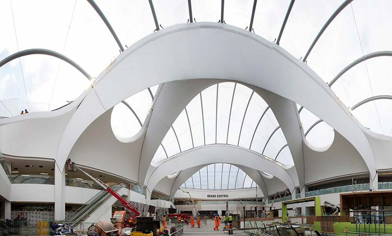 Birmingham New Street's first impressions are overwhelmingly favourable
