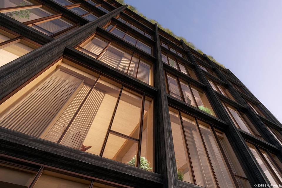 SHoP Architects Are Bringing a Wooden Condo Building to Chelsea
