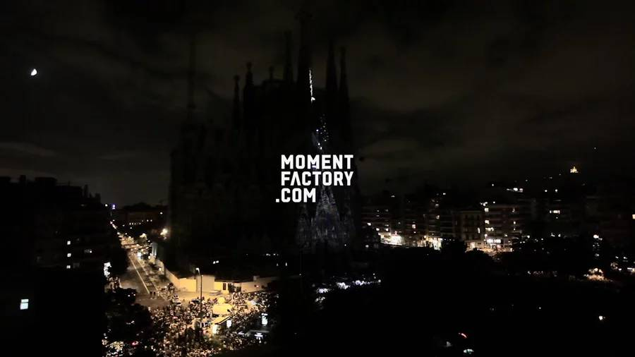 Multimedia Spectacle at La Sagrada Familia