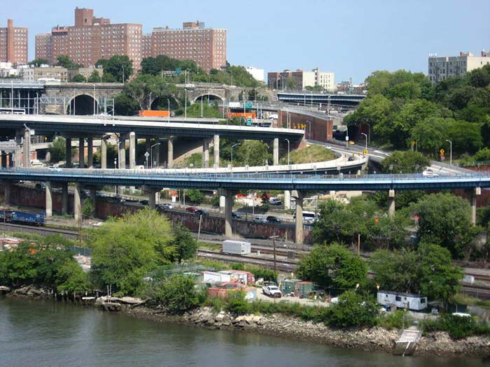 Bronx roads from High Bridge